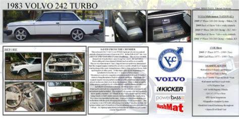 find   volvo  turbo vcoa   show winner