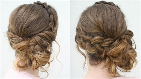Hairstyles For Hair Updos by Diy Prom Updo 2018 Prom Hairstyles Braidsandstyles12