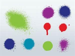 Spray Splatter Vector Vector Art & Graphics | freevector.com