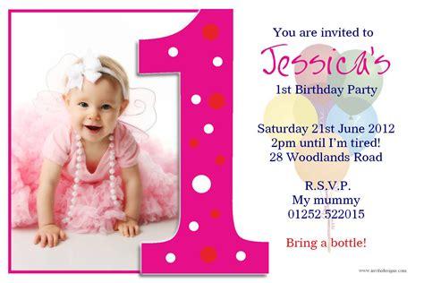 birthday  baptism invitations st birthday