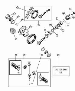 87 Jeep Wrangler Front Axle Diagram