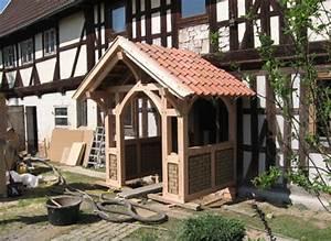 Vordach Holz Komplett : fachwerk vorbau eines bauernhauses ~ Whattoseeinmadrid.com Haus und Dekorationen