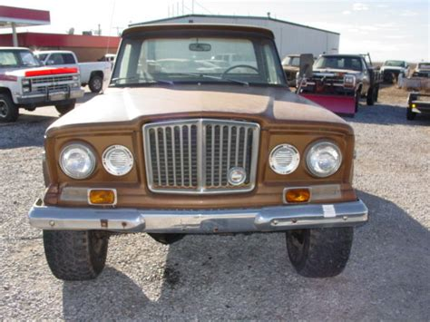jeep gladiator 1970 1970 jeep j2000 gladiator 4x4 3 53 detroit diesel calf