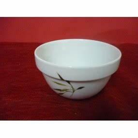 Bol En Bambou : bol empilable 50cl en porcelaine d cor bambou centre vaisselle sarl la porcelaine de christ le ~ Teatrodelosmanantiales.com Idées de Décoration
