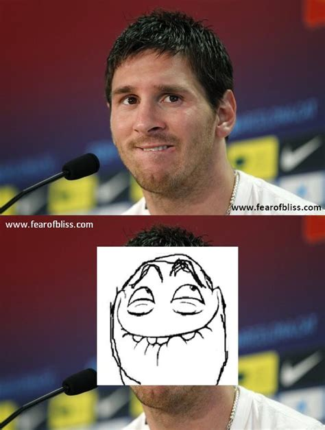 Lionel Messi Memes - messi meme fear of bliss