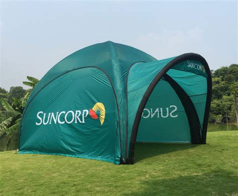 inflatable dome tents portable branding solution  shipping
