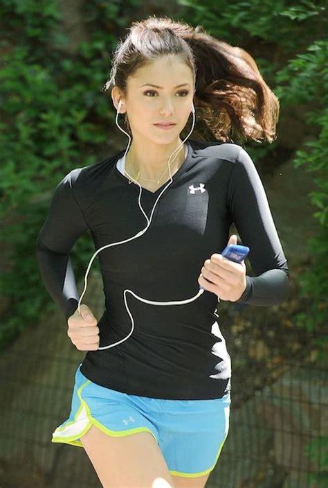 nina dobrev workout  diet celebrity weight