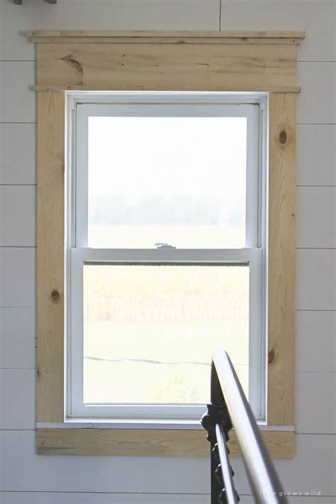 farmhouse window trim grows