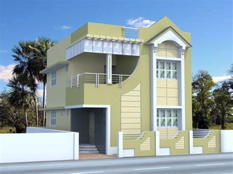 Front Elevation Small Houses India