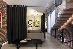 Interior, Partitions, Room, Zoning, Design, Ideas