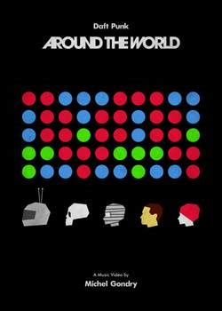 Around The World  Daft Punk (michel Gondry) By Federico