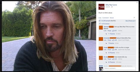 Billy Ray Cyrus Meme - poor billy ray cyrus