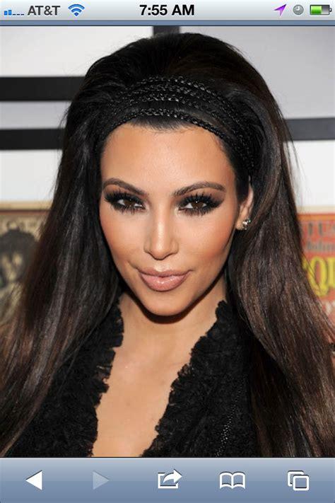 kim kardashian hair  backteased beauty tips