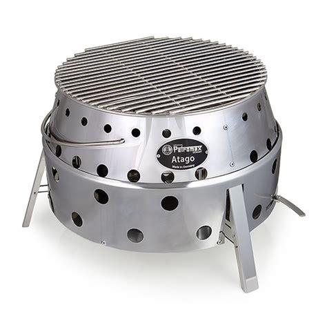 petromax atago retracting bbq grill fire pit