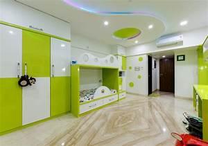 Kids, Room, Interior, Kumar, Interior, Thane, Modern, Style