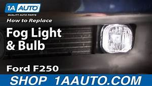 How To Install Replace Fog Light And Bulb 01