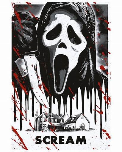 Movie Horror Poster Posters Scream Studio