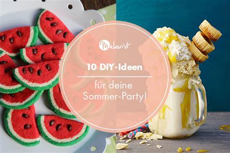 10 Diyideen Für Deine Sommerparty
