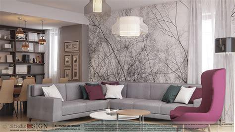apartment in bacau modern interior design studio insign