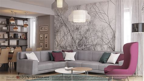 Apartment In Bacau  Modern Interior Design  Studio Insign