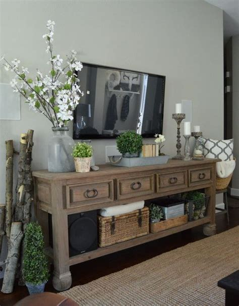 Decorating Ideas Tv Consoles by A Simple Refresh Decorate Modern Farmhouse