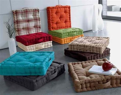 diy floor cushions can probably find some at homegoods
