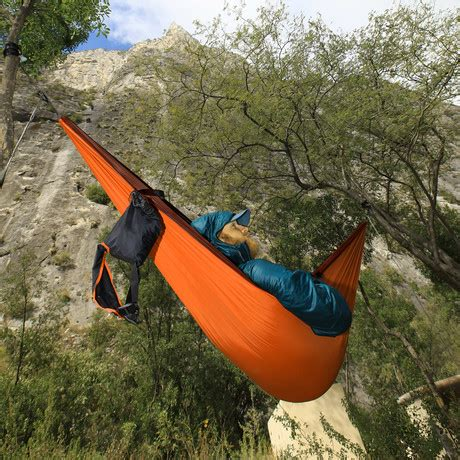 Madre Research Hammock by Pares Hammock Bundle Rust Madre