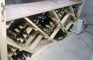 Fabrication D39un Casier Bouteilles Ides Brico