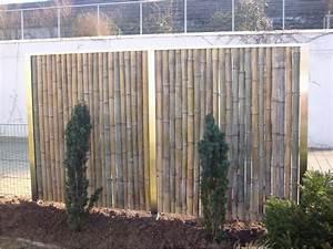 Gartenzaun Sichtschutz Ideen : deko gartenzaun ideen selbermachen bambus sichtschutz eisigen auf moderne deko ideen in ~ Frokenaadalensverden.com Haus und Dekorationen