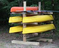 Homemade Kayak Storage Racks Outdoor