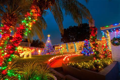 christmas lights displays  orlando neighborhoods