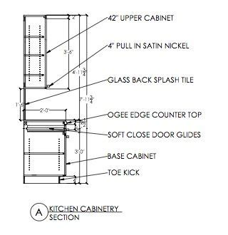 kitchen cabinet construction details joinery detail drawings search home ideas 5198