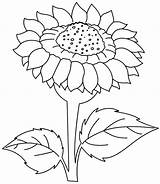 Coloring Sunrise Pages Sunflower Printable Sun Getcolorings Print sketch template