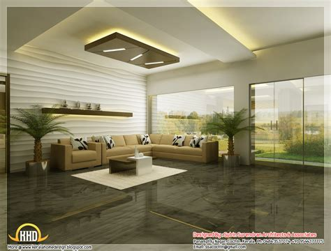 d home interiors beautiful 3d interior office designs kerala home design