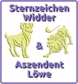 Löwe Und Widder : sternzeichen widder aszendent l we ~ Buech-reservation.com Haus und Dekorationen