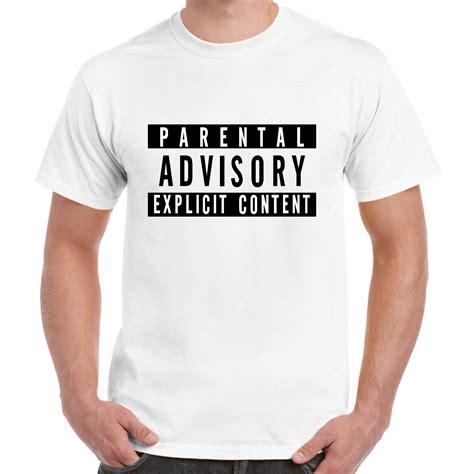 parental advisory t shirt lyrics metal rap ebay