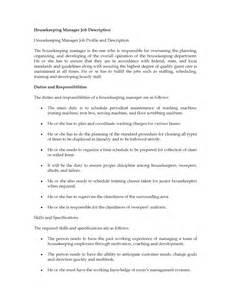 cleaning duties description collections supervisor resume