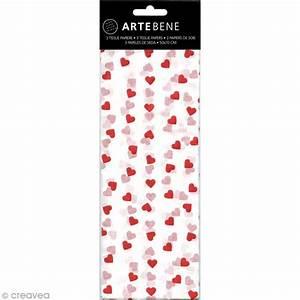 Papier De Soie Blanc : papier de soie coeurs blanc et rouge 50 x 70 cm 3 pcs ~ Farleysfitness.com Idées de Décoration