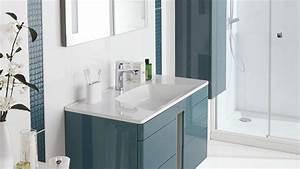 meuble salle de bain double vasque lapeyre With meuble salle de bain rio