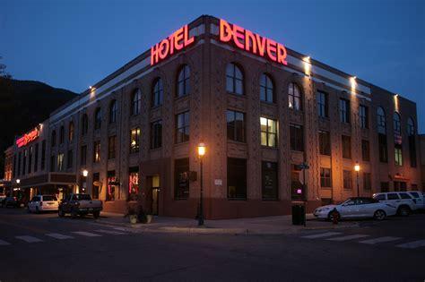 the hotel denver an iconic landmark in downtown glenwood