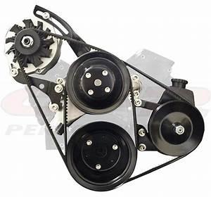 33 Chevy 350 Power Steering Bracket Diagram