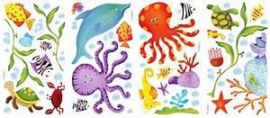 Gemalte Bilder Von Kindern : roommates wandsticker wandbild abenteuer unterwasserwelt www 4 ~ Markanthonyermac.com Haus und Dekorationen