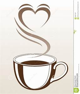 Coffee Cup Heart Clipart (55+)