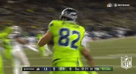 celebrating seattle seahawks gif  nfl find share