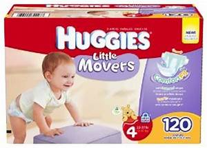 Huggies Little Movers Slip On Baby Diapers
