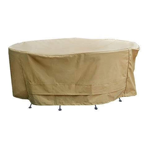 seasons sentry cvp01426 table and chair set cover sand
