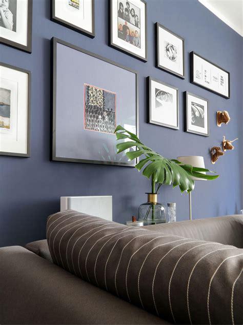 Blaue Wandfarbe Wohnzimmer by Wohnzimmer Wandfarbe Blau Realitny Club