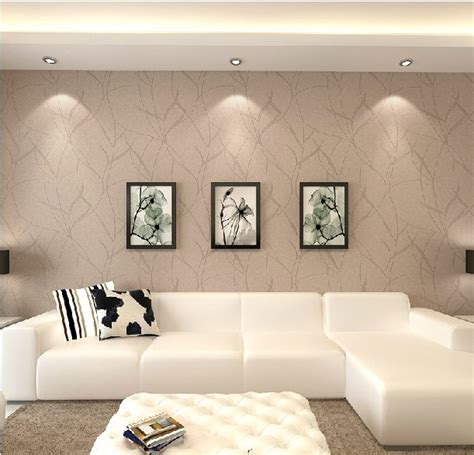 Tapeten Wohnzimmer Beige by Italy Beige Woven Wallpaper The Living Room Background