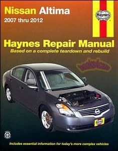 Shop Manual Altima Service Repair Nissan Book Haynes