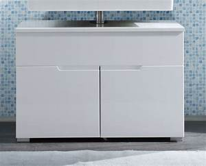 Waschbeckenunterschrank Hochglanz Weiß : produktbild bathrooms badezimmer unterschrank ~ A.2002-acura-tl-radio.info Haus und Dekorationen